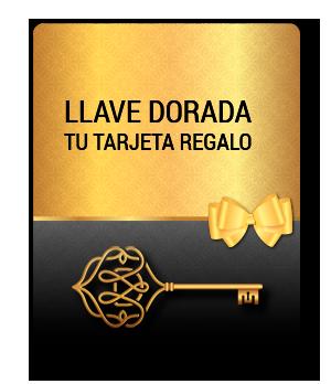 Llave dorada: TARJETA REGALO - Opticalia BRONTE